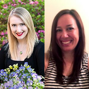 Sarah Glenn Marsh (L) and Shana Silver, your co-mentor team!