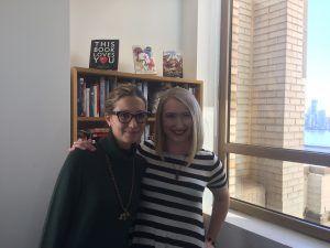 My editor at Razorbill, the brilliant Jessica!