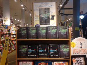 Fear the Drowning Deep display at Books of Wonder!